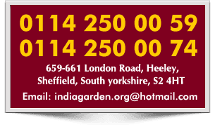India Garden Takeaway Offer